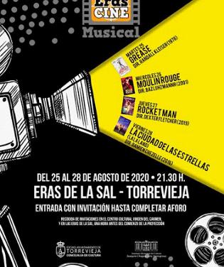 """Del 25 al 28 de agosto se celebra """"Eras de cine"""", con la proyección de grandes musicales de la historia del cine"""