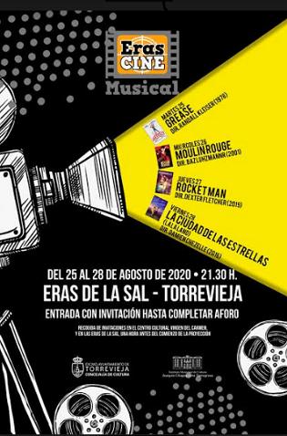 """Del 25 al 28 d'agost se celebra """"Eras de cine"""", amb la projecció de grans musicals de la història del cinema"""