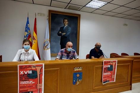 """El 18é Festival Internacional de Bandes de Música """"ciutat de Torrevieja"""" tindrà lloc des del 21 fins al 23 d'agost en les Eres de la Sal"""