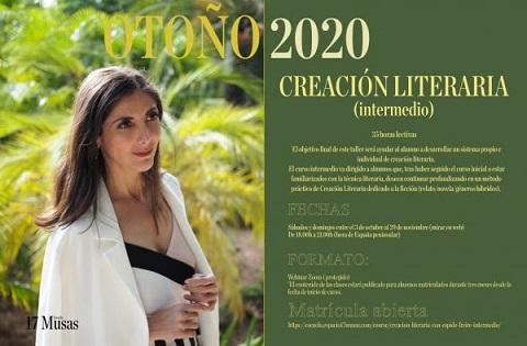 Curso de creación literaria con Espido Freire