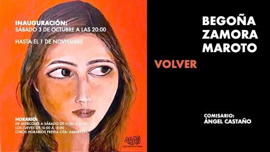 La Galería ACAS de Elche inaugura la exposición Volver de Begoña Zamora