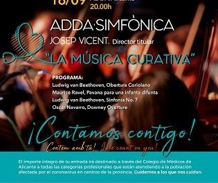 El ADDA acull un concert benèfic per a combatre la COVID-19 en col·laboració amb el Col·legi de Metges