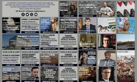 Casa Mediterráneo dedica la seua programació d'octubre a la diplomàcia, l'economia i la cultura dels països riberencs