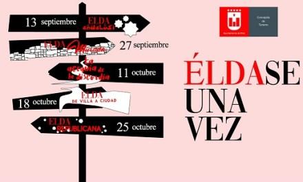 Turisme d'Elda posa en marxa la cinquena edició de les rutes 'Éldase una vegada' que permeten conéixer l'evolució històrica de la ciutat