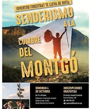 La concejalía de juventud de Finestrat os invita a descubrir el Parque Natural del Montgó