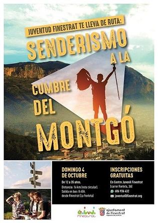 La regidoria de joventut de Finestrat us convida a descobrir el Parc Natural del Montgó
