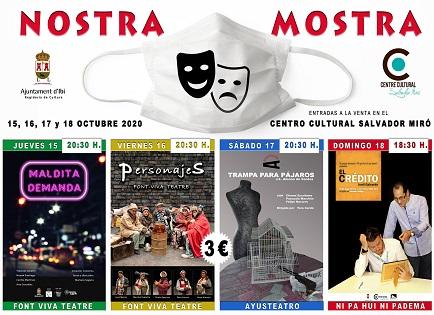 "Ibi celebra la ""Nostra Mostra"" de teatro"