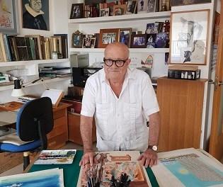 """El artista Alfonso Ortuño vuelve a Orihuela con una nueva exposición, """"Por Humor al Arte"""""""