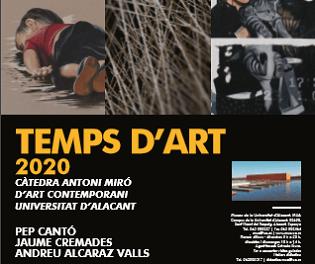 El Museo de la Universidad de Alicante inaugura «Temps d'Art» 2020, con las propuestas plásticas seleccionadas por la Cátedra Antoni Miró de Arte