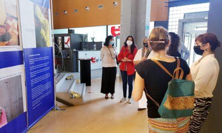 El Museu del Calçat d'Elda acull una exposició fotogràfica sobre el drama del tràfic de dones