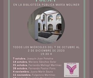"Fernando Mañogil Martínez recitarà aquest dimecres a la biblioteca pública municipal ""María Moliner"" d'Oriola"