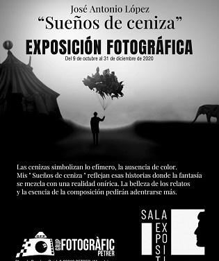 """El Grup Fotogràfic de Petrer inaugura la exposición fotográfica """"Sueños de Ceniza"""" de José Antonio López Rico"""