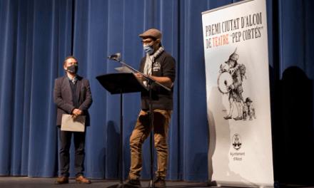 """Paco Romeu guanya la XLVI edició del Premi Ciutat d'Alcoi de Teatre """"Pep Cortés"""""""