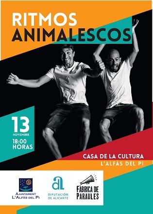 Teatro Infantil gratuito este viernes en la Casa de Cultura de l'Alfàs