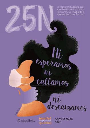 Arrancan los actos en Alicante del 25-N, Día Internacional para la eliminación de la violencia contra las mujeres