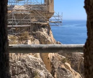 La restauración del Baluarte de la Mina del castillo de Santa Bárbara permitirá visitarlo a partir de la primavera de 2021