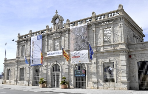 Visitas guiadas a la Antigua Estación de Benalúa, sede de Casa Mediterráneo