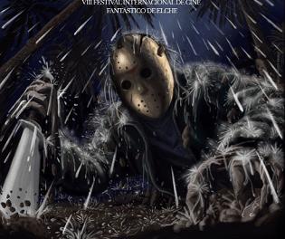 FANTAELX 2020 rinde homenaje en su cartel al 40º aniversario de la saga de terror 'Viernes 13'