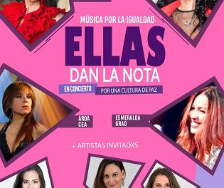 """La Llotja de Elche acoge este sábado """"Ellas dan la nota"""", un espectáculo musical contra las desigualdades de género"""