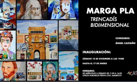 """Inauguració de """"Trencadís bidimensional"""" de Marga Pla a la Galeria ACAS d'Elx"""