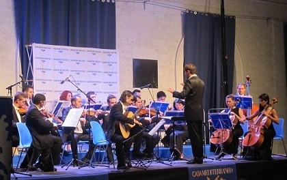 Composiciones de Manfredini, Strauss y Gruber en el concierto extraordinario de Navidad de Casa Mediterráneo