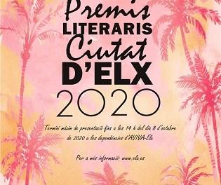 """Els premis literaris """"Ciutat d'Elx"""" 2020 ja tenen guanyadors"""