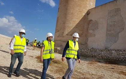 El Govern central aportarà el 60% del pressupost de la restauració de la barbacana del Castell d'Elda a través del 1,5% Cultural