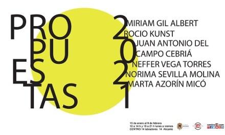 El Centro 14 de Alicante acoge la exposición colectiva Propuestas 2021