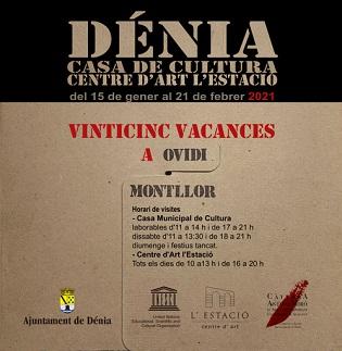 """La exposición itinerante """"Vinticinc vacances a Ovidi Montllor"""" llega a Dénia"""