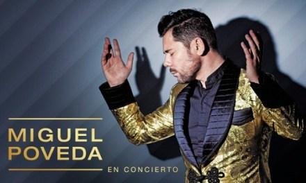 El Auditorio de Torrevieja comunica la nueva fecha del concierto de Miguel Poveda