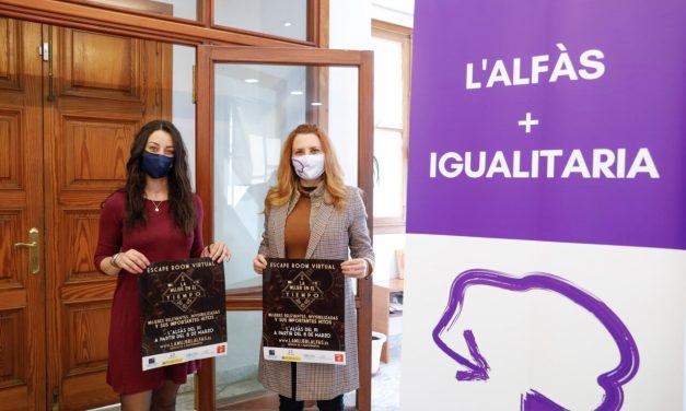 L'Alfàs organiza el escape room virtual 'La Mujer en el Tiempo' con motivo del 8M