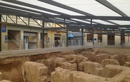 L'Ajuntament d'Elx demana permís a conselleria per a cobrir al més prompte possible les restes arqueològiques de l'entorn del Mercat
