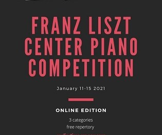 """408 pianistas se dieron cita en el Concurso Internacional Online del """"Centro Franz Liszt de La Nucíaˮ"""