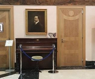 Villena sol·licita a la SGAE la renovació del conveni de cessió de l'el piano i retrat de Chapí