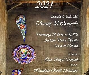 La concejalía de Fiestas y Tradiciones de El Campello programa un concierto de Semana Santa para el domingo 28 de marzo