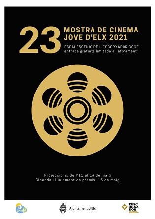L'Ajuntament fa costat als joves directors de cinema a través de la 'XXIII Mostra de Cinema Jove d'Elx'