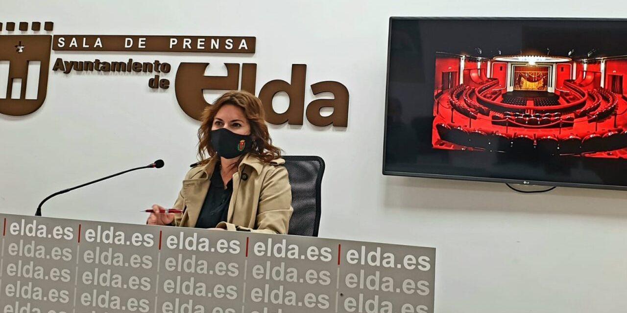 El Teatro Castelar de Elda retoma este mes su actividad con una amplia e interesante programación y una reducción de su aforo del 50%