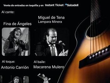 """Nuevo horario para el """"I Festival de Flamenco Fecuas Alicanteˮ"""
