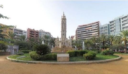 El Ayuntamiento de Alicante adjudica las obras de la Fuente de Luceros a una empresa especializada que permitirá mejorar la precisión de su restauración