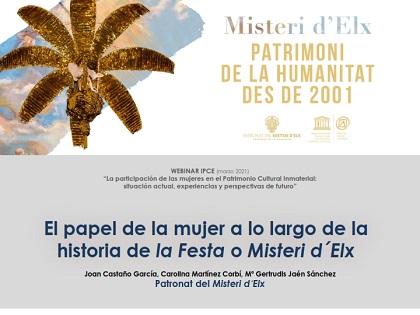 El Misteri d'Elx pone en valor el papel de las mujeres en la pervivencia de la Festa