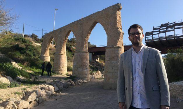 Finalizan las obras de consolidación del acueducto de San Rafael de Petrer con una inversión de 43.200 €