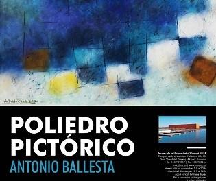Una selecció d'obres d'Antonio Ballesta s'exposen en el MUA amb «Poliedre pictòric»