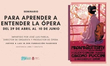 La Concejalía de Cultura de Elda organiza un seminario para aprender a entender a la ópera