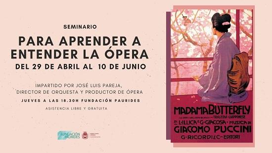 La Regidoria de Cultura d'Elda organitza un seminari per a aprendre a entendre a l'òpera