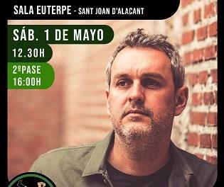 Rafa Pons torna a Sala Euterpe l'1 de maig