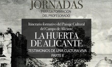 El MARQ impartirá online el curso sobre el patrimonio de la huerta alicantina que comienza el 13 de abril