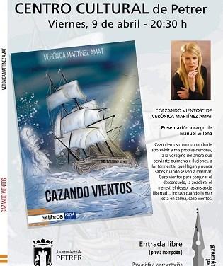 """La escritora petrelense Verónica Martínez se aventura con la poesía en su nueva obra """"Cazando Vientos"""""""