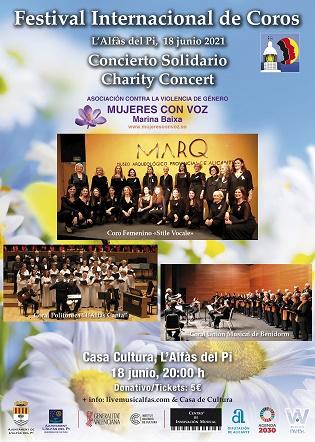 Ya están a la venta las entradas del Festival Internacional de Coros de l'Alfàs