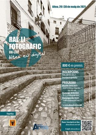 El rally fotográfico de Altea celebra una segunda edición en formato digital