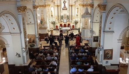 Exitosa obertura del Cicle de Concerts de Primavera del Poble Nou de Benitatxell amb la Gala Lírica de l'Orquestra de Cambra de València